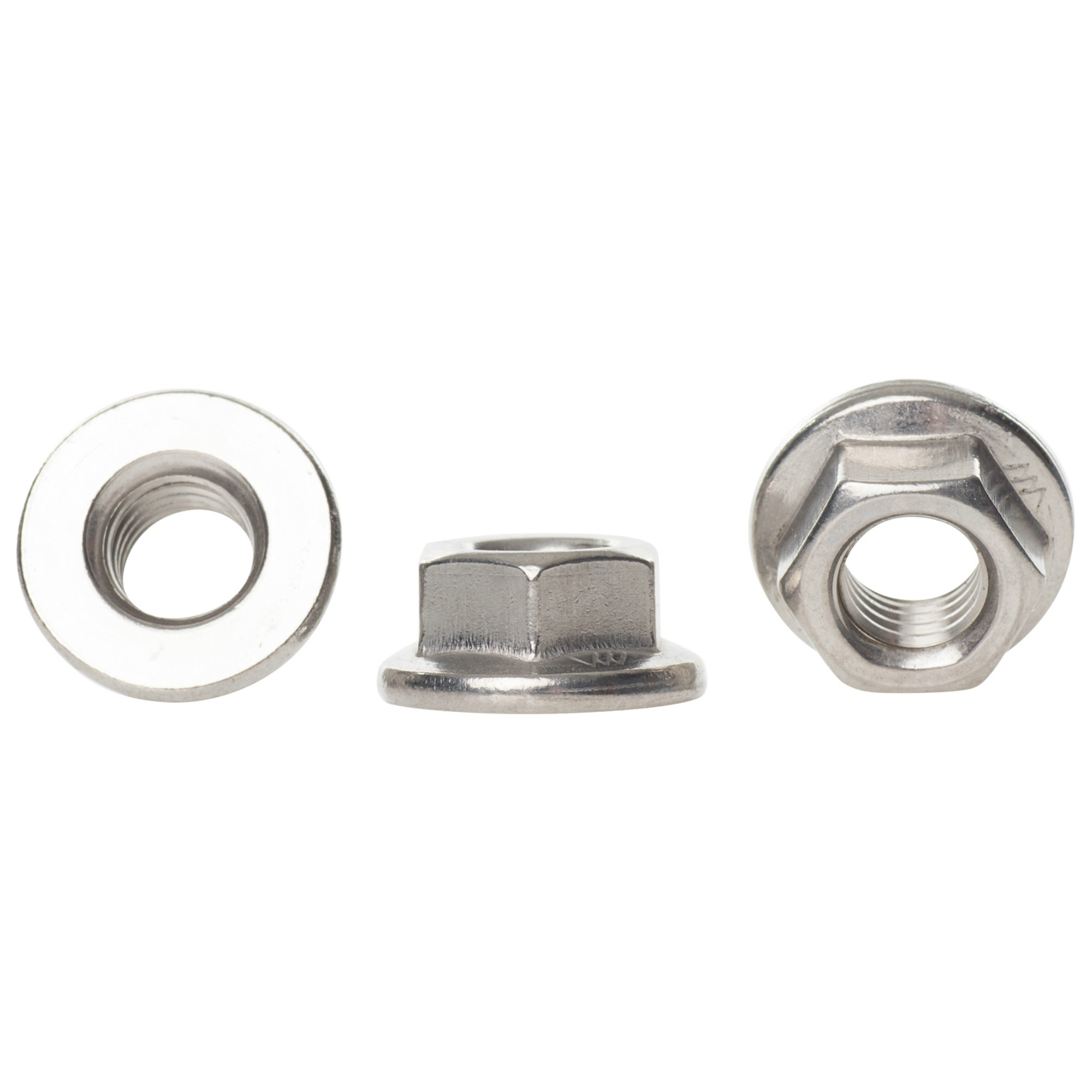 7MM SPANNER 50 PACK OF A2 STAINLESS STEEL M4 HEX FULL NUT